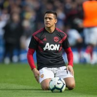 Why is Alexis Sanchez not playing for Manchester United vs Juventus in the Champions League?