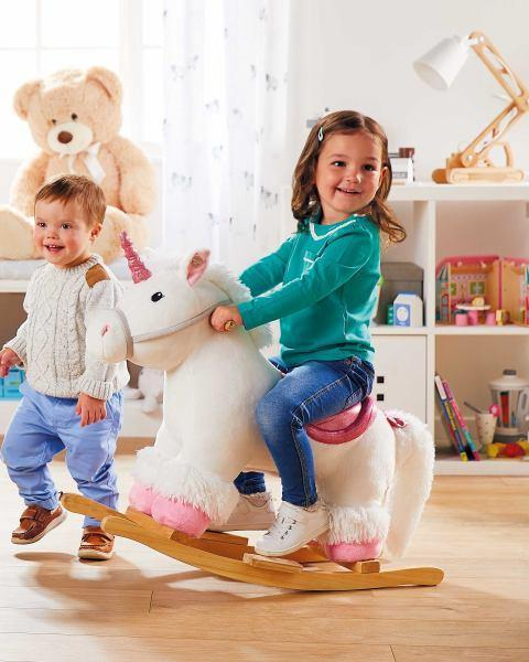 Aldi is selling a £30 rocking unicorn and your kids will love it