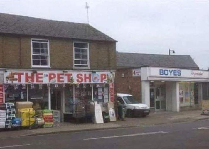 Woman spots neighbouring shops making a brilliant sign combo in Cambridgeshire town – and the internet loves it