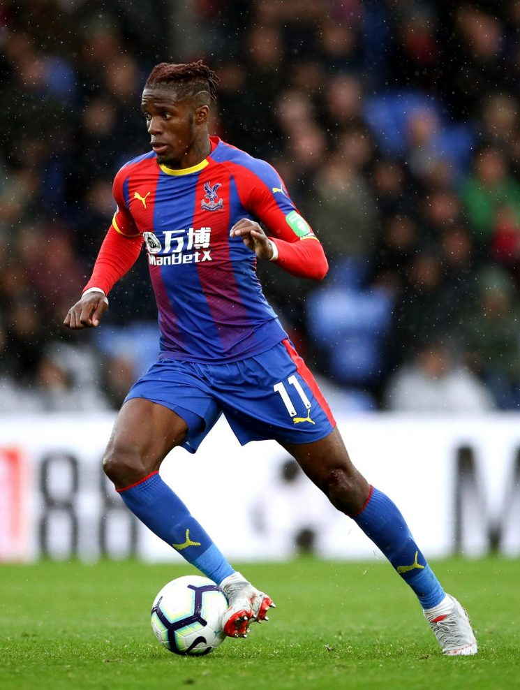 Crystal Palace star Wilfried Zaha racially abused following dive storm in this weekend's 2-2 draw with Arsenal
