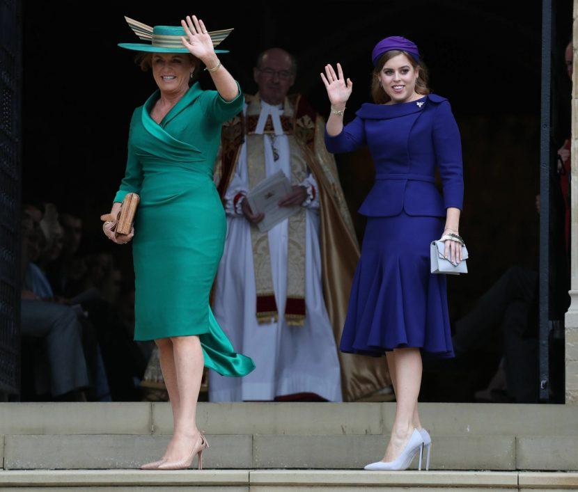 Princess Beatrice wore Ralph and Russo to her sister's Windsor wedding