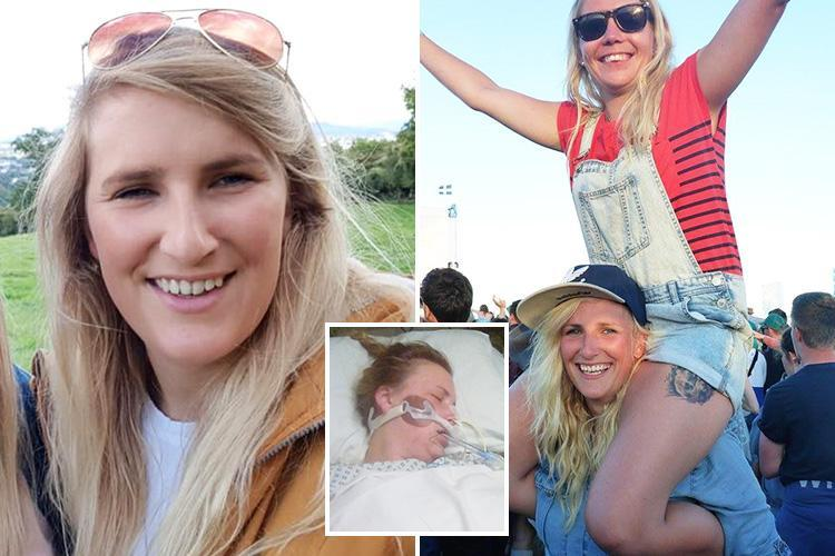 Bride-to-be, 25, wakes up an 'entirely different person' after brain infection WIPES her memory