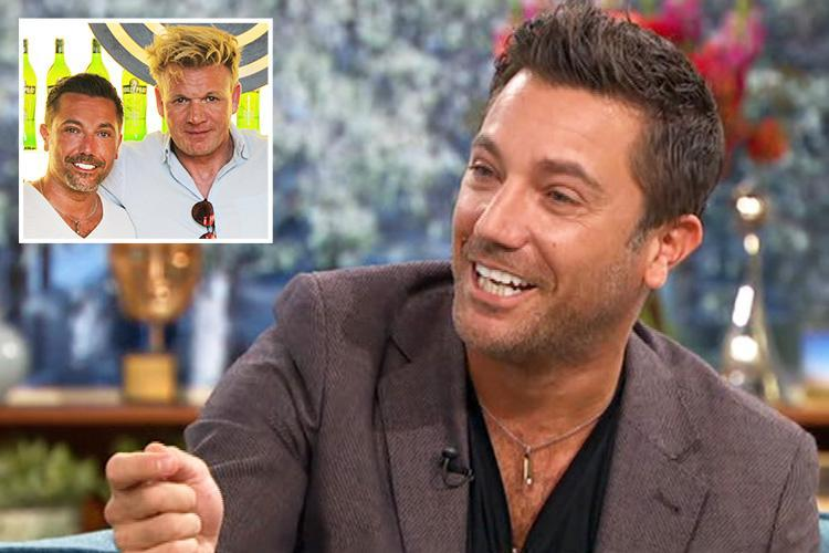 Gino D'Acampo reveals Gordon Ramsay would 'wake him up by hitting him on the foot with his penis' every day as they filmed new road trip TV show