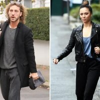 Seann Walsh and Katya Jones look downcast as they head to Strictly rehearsals separately following drunken snog