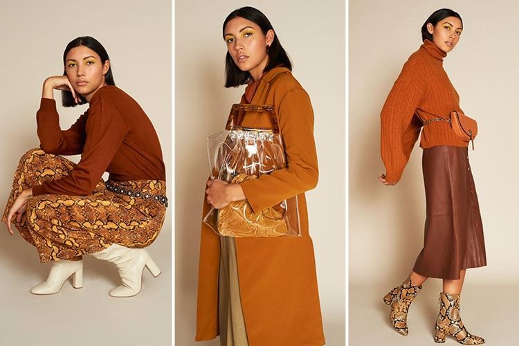 Make brown the new black by adding earthy shades to your autumn wardrobe