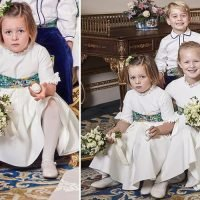 This is what Mia Tindall was holding in Princess Eugenie's wedding portraits