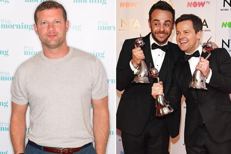 Dermot O'Leary says he would rather his pal Ant McPartlin get healthy than winning the Best Presenter gong himself.