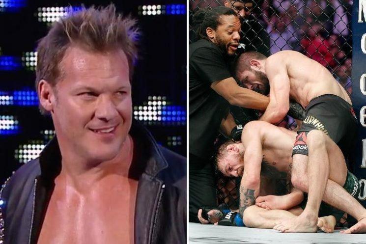 Conor McGregor mocked by WWE legend Chris Jericho after UFC 229 defeat to Khabib Nurmagomedov