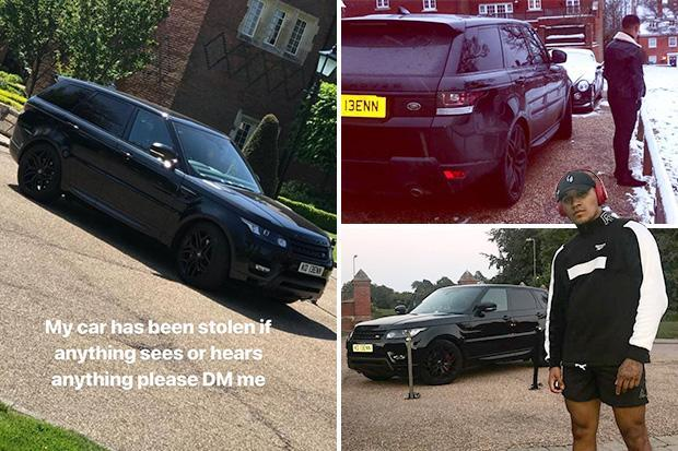 Boxing star Conor Benn launches urgent appeal after having luxury Range Rover stolen
