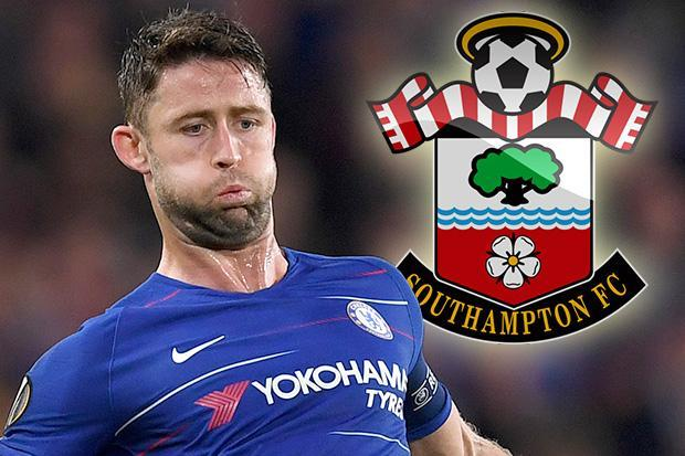 Southampton interested in Chelsea star Gary Cahill after No1 target Lewis Dunk pens new deal at Brighton