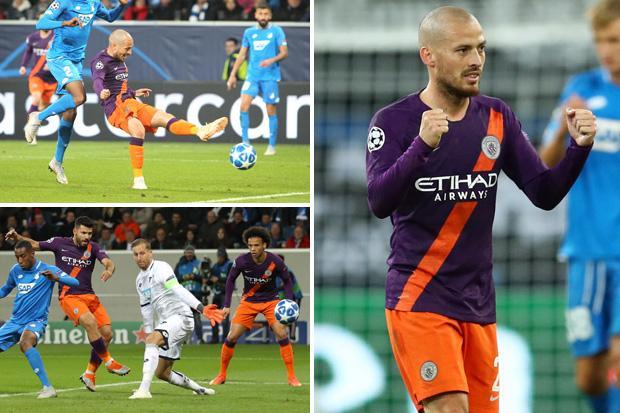 Hoffenheim 1 Man City 2: David Silva's late strike gets Champions League bid off and running