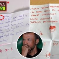 Luis Enrique's first-half notes as Spain were mauled by England revealed