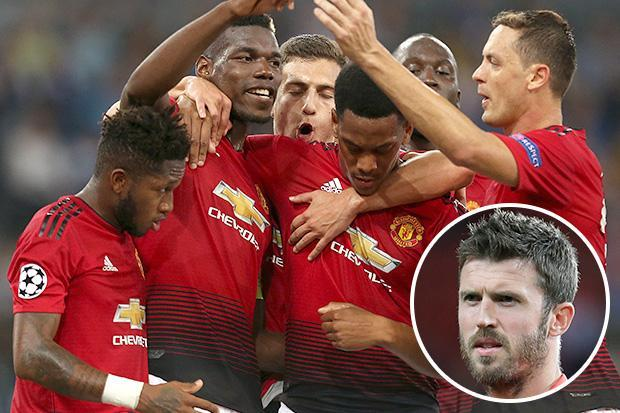 Michael Carrick hits back at Paul Scholes and Rio Ferdinand for claiming Manchester United players aren't trying