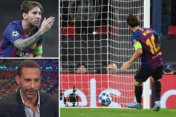 Lionel Messi showed Harry Kane just how high the bar is set, says Rio Ferdinand