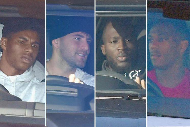 Manchester United stars back in training as Jose Mourinho plots his Chelsea return