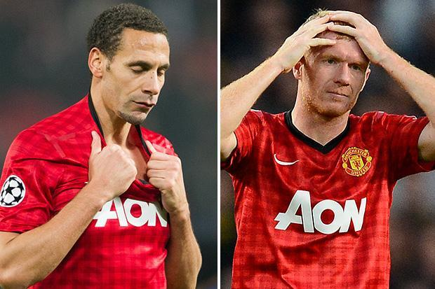 Manchester United stars furious with criticism from legends including Scholes and Ferdinand and are 'sharing clips of their mistakes during careers' in response