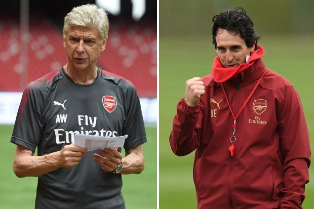 Arsene Wenger takes credit for Unai Emery's Arsenal success and backs successor to challenge for Premier League