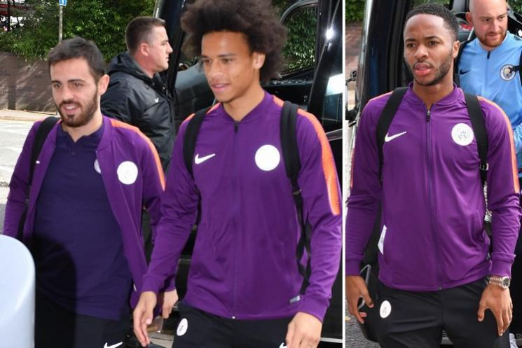 Man City fly out to face Hoffenheim but Kevin De Bruyne, Benjamin Mendy and Fabian Delph all miss out through injury