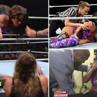 WWE star Tegan Nox facing more than year out after knee 'EXPLODED' breaking her leg and tearing ACL