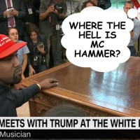 See Late-Night Hosts Feast on Kanye West's Epic White House Rant