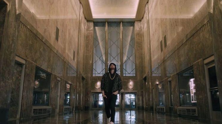Watch Eminem Spit 'Venom' Atop Empire State Building on 'Kimmel'