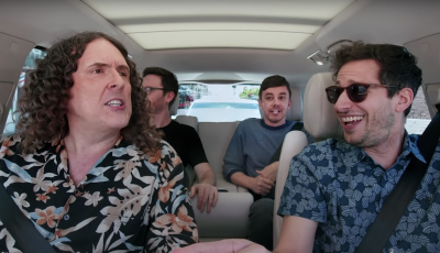 See 'Weird Al' Yankovic, the Lonely Island Sing 'Fat' in 'Carpool Karaoke' Clip