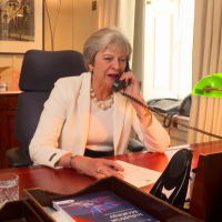 Theresa May shows unseen funny side as she appears in This Morning comedy skit with Phillip Schofield