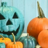 Seeing Teal Pumpkins? Non-Traditional Halloween Decoration Raises Awareness Of Food Allergies