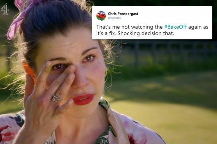 Bake Off fans claim show is FIXED after Manon Lagreve is booted off after 'near perfect' Danish Week