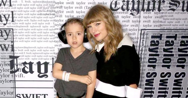 Taylor Swift Meets Boy With Autism After Donating $10K for a Service Dog