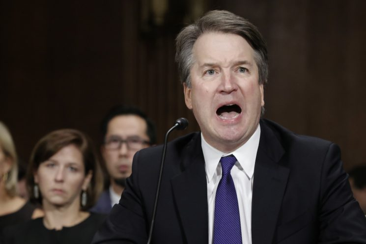 How shocking, Brett Kavanaugh was an angry, violent drunk in college too