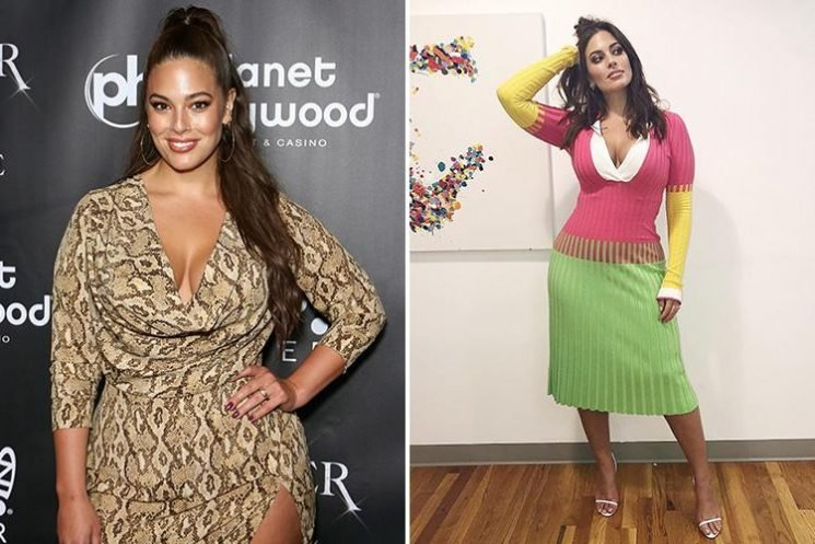 Fans criticise Ashley Graham and brand her 'too SKINNY' as she debuts slimmer figure