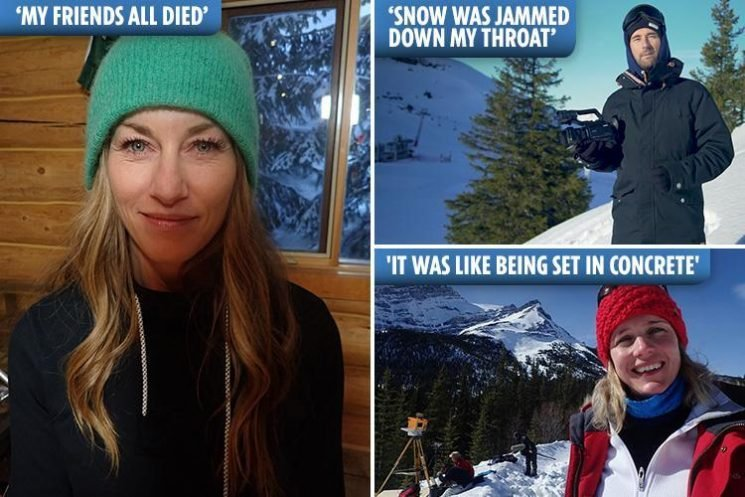 'I was choking on ice and all my friends died'… five avalanche survivors reveal their horror of being buried alive by snow as strong as concrete