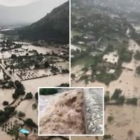 Devastating Majorca floods see cops forced to rescue 60 people including tourists from cars and roofs of buildings