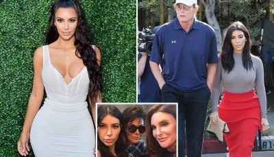 Kim Kardashian says she burst into 'hysterical' tears and ran away after walking in on stepdad in women's clothes ten years before transition to become Caitlyn