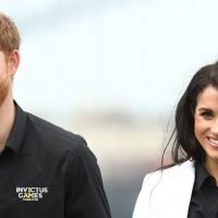 Viral Photo Shows Prince Harry Practicing Invictus Games Speech For An Audience Of One — His Adoring Wife