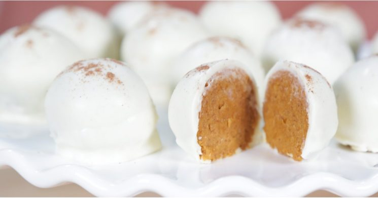 Pumpkin Spice Truffles When You Don't Want to Bother With Baking Pie