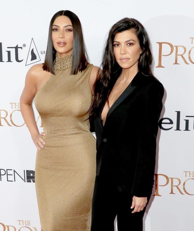 Kourtney Kardashian's Instagram With Kim Means Their Feud Is Truly Water Under The Bridge