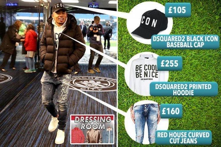 Gabriel Jesus fashion: Manchester City's Brazilian striker loves Dsquared2 and Christian Louboutin