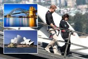 Go on a romantic stroll up the iconic Sydney Harbour Bridge just like the royal lovebirds Harry and Meghan