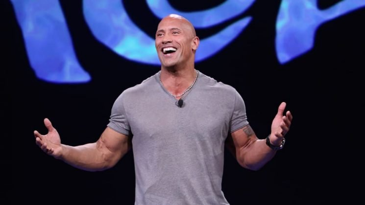 Guess Why The Rock Got a Pink Manicure This Week?