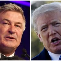 Alec Baldwin calls on voters to 'overthrow' Donald Trump