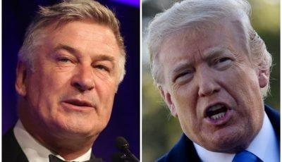 Alec Baldwin calls on voters to 'overthrow' Donald Trump