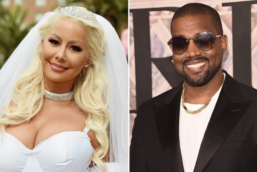 Amber Rose references Kanye in post about new boyfriend