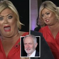 Gemma Collins meets Jeremy Corbyn and claims it was like 'When Harry Met Sally'