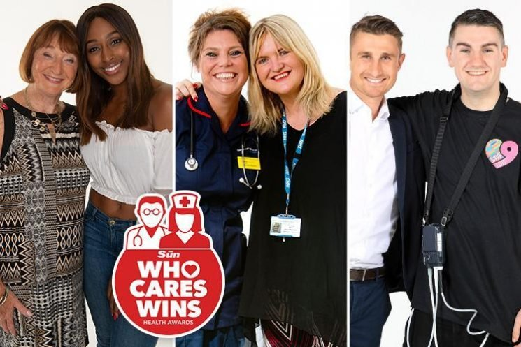 The inspiring stories of the 33 nominees in our Who Cares Wins health awards