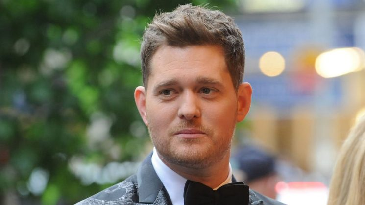 Michael Bublé Is in Tears Discussing Son's Cancer Battle