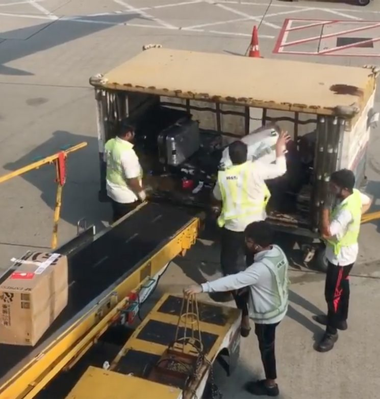 Airport Baggage Handlers Caught in Insane Viral Video Aggressively Throwing Passengers' Luggage