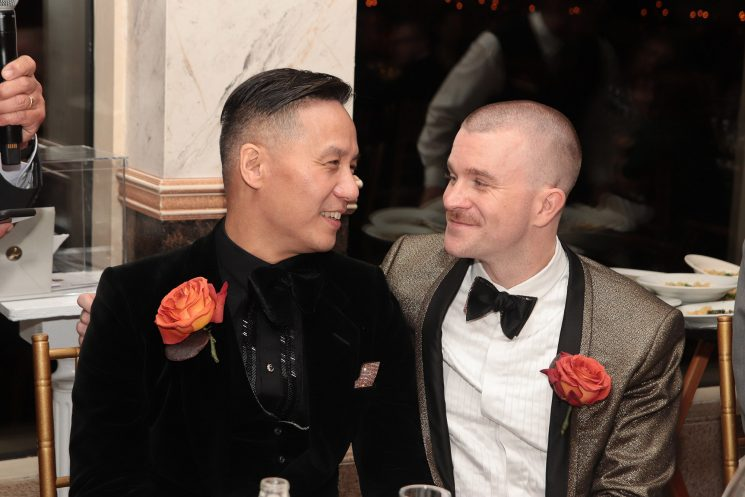 Inside BD Wong's Brooklyn wedding
