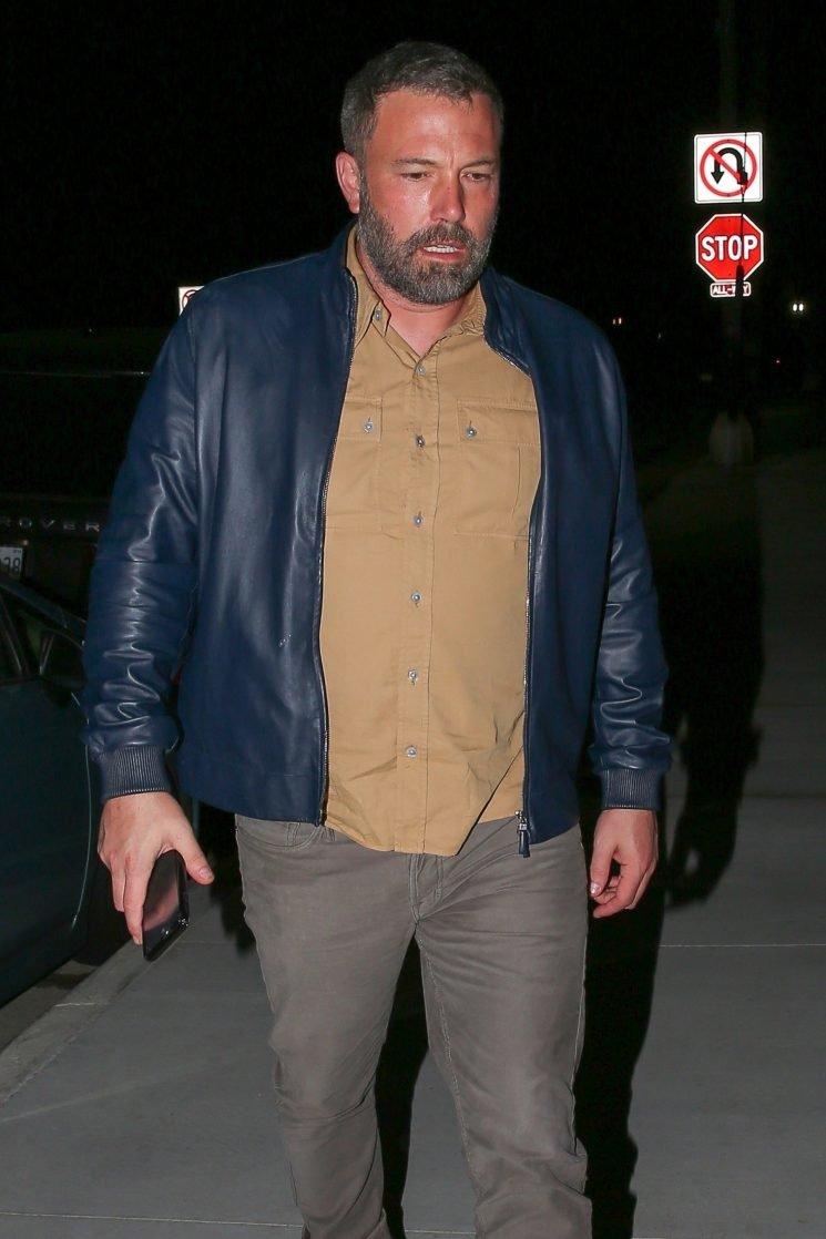 Ben Affleck Seen Leaving Jennifer Garner's House After Spending Five Hours Finalizing Divorce